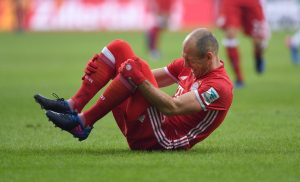 Arien Robben - Verletzung