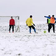 Training während der Winterpause