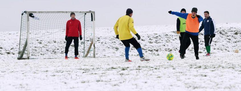 Training während der Winterpause