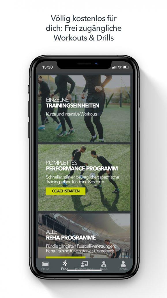 Training im Winter - die App